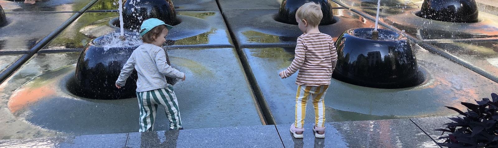 Leta hägn och hitta vattenpark