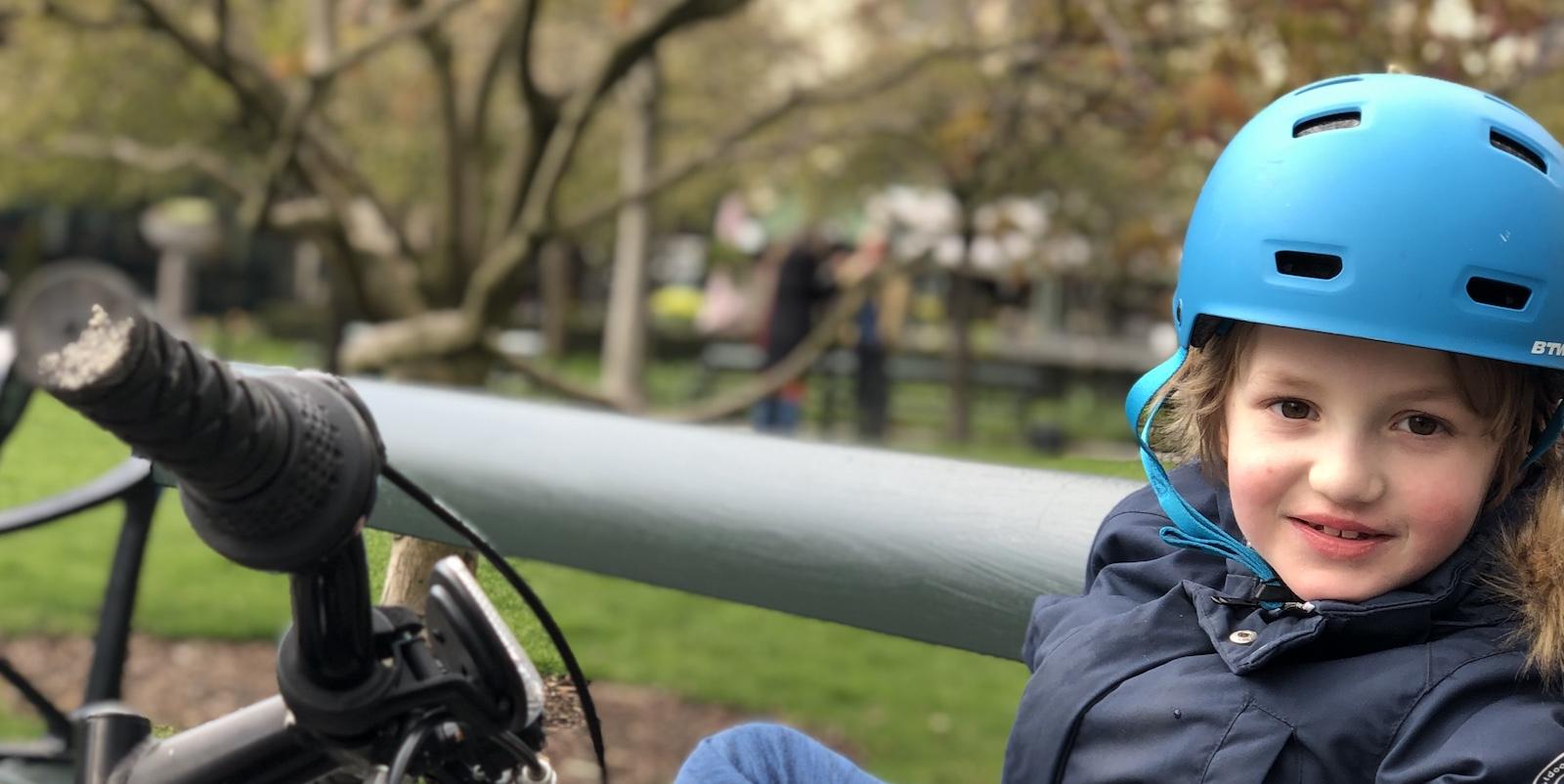 Cykelnerven, Berzelii park och den där Magnolian.