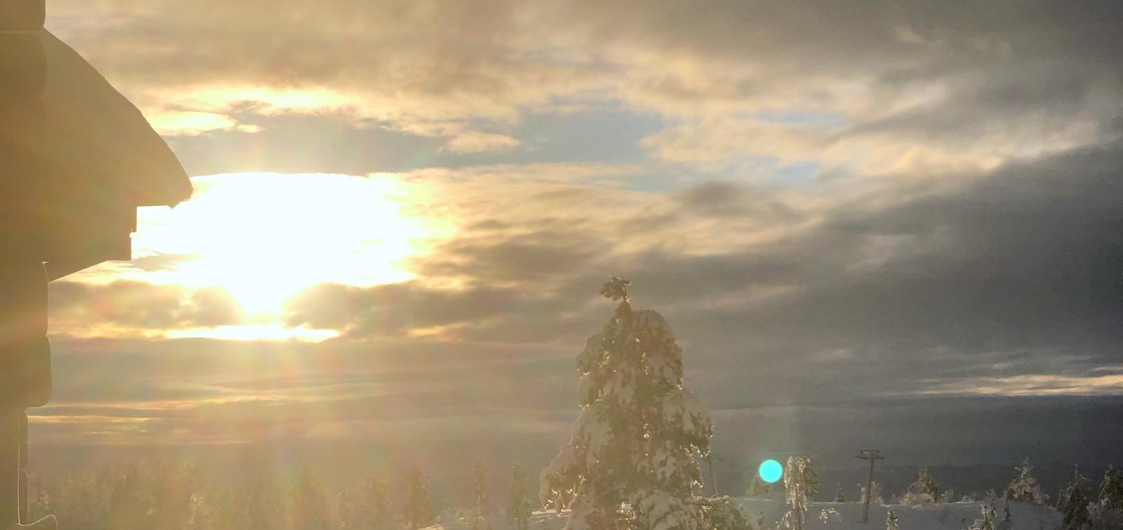 Gott nytt och den där solstrålen!