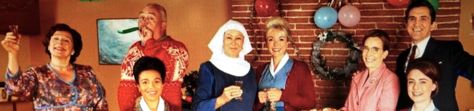 Oväntade gotter, änglar, barnmorskor och den där julkänslan.